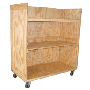 Office Cart: 3-Shelf